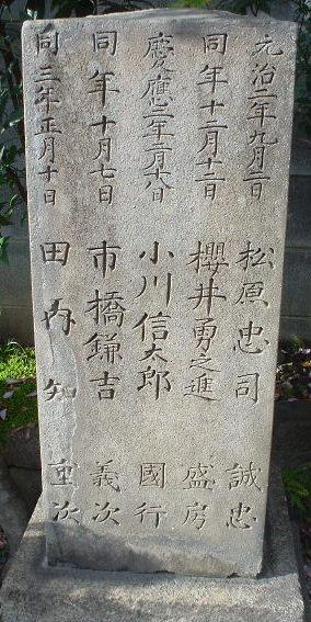 市橋鎌吉墓